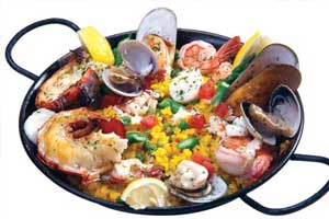 paella Modern Flavors of Arabia: Baba Ghanouj Salad